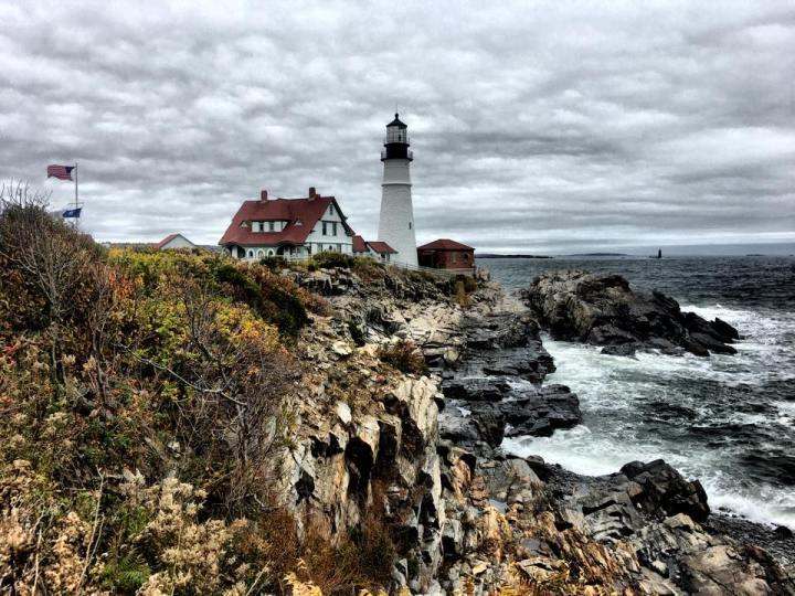 Mattinata al Portland Headlight(Maine)