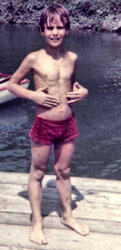 Magro era magro…