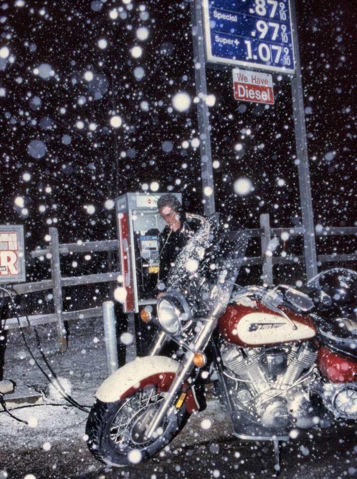 Nevicava